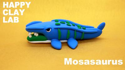 海の王者モササウルスを作ろう!