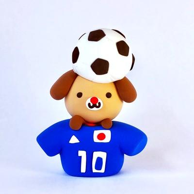 一点もの!2018 FIFA ワールドカップ 日本代表  決めろワンワンゴール 特別記念作品のご紹介