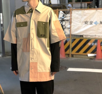 MAHARISHI -patch work shirt-