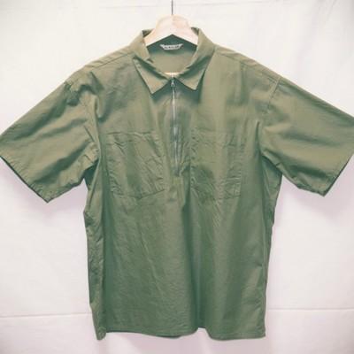【セレクトショップ enprieure】AURALEE 半袖ハーフジップシャツ(古着)発売中です!