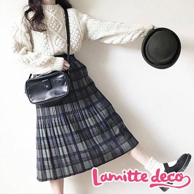 【大人気商品】この冬は、チェック柄プリーツスカートでレトロ可愛く♡