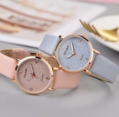 """【春色の"""" 時 """"を身に着けて】 可愛くナチュラルに♬ 手もとに"""" 春 """"を感じるガーリーな腕時計"""