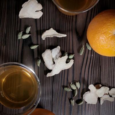 【リフレッシュ】新生活で忙しいあなたに!オレンジとカルダモンの爽やかな香りのスパイスティー 【薬膳】