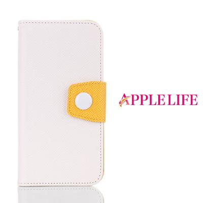 カラフル手帳型アイフォンケース!カードも入り、スタンドになる!