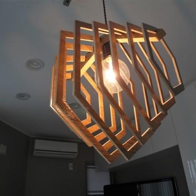 【新商品】天然木を使用したライトはインテリアに取り入れやすい!