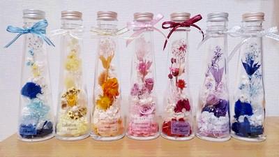 春です。暖かくなりお花の季節・・・癒しのハ―バリウムをお部屋に飾ってみませんか