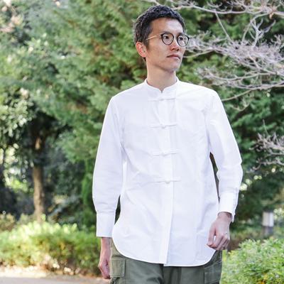 カジュアルテーラーが作るチャイナシャツで新しい春のファッションを!