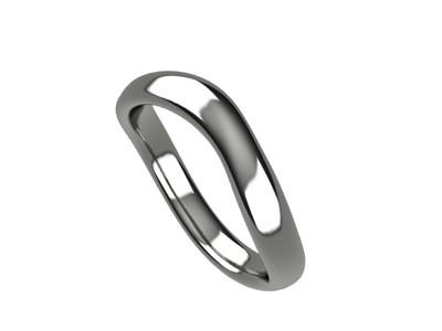 カジュアルジュエリーから結婚指輪まで使用用途は考え方次第!うねりを強調した「ウェーブリング」登場!
