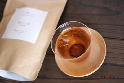 暑い日には冷茶!ShiZen Teaの棒ほうじ茶とHarioボトルの水出し冷茶セット!