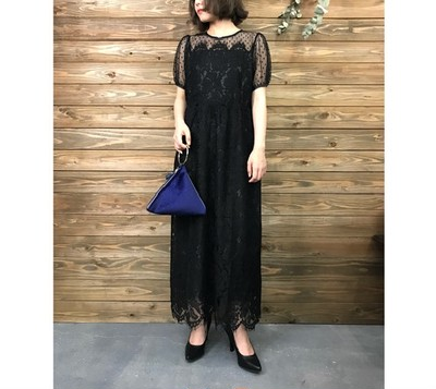 今年のお呼ばれドレスは【ロング】でいつもと違う雰囲気に♡