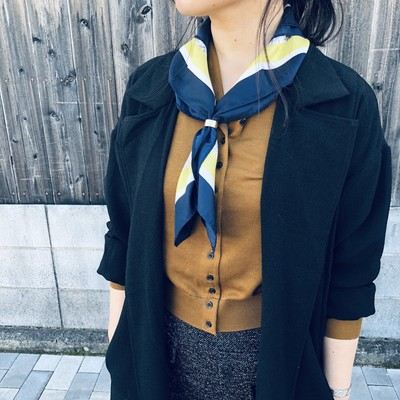 【 Today`s Topic 】  MAP PATTERN SCARF
