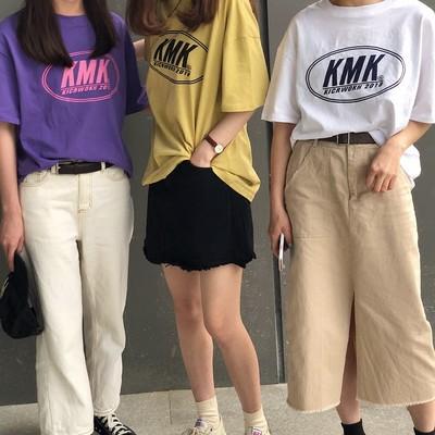 夏はやっぱりTシャツコーデ♡ 〜古着風デザインの着まわし抜群アイテム〜