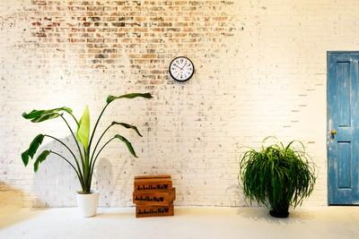 軽量でどこにでも簡単に掛けることができる、リビングやダイニングに最適なサイズの時計