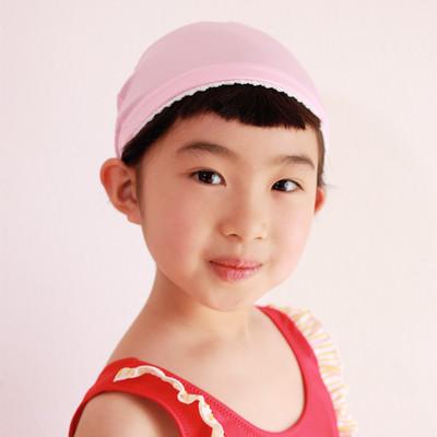 可愛さの王道!赤ちゃんからお姉さんまで、みんなが大好きなレースを使ったスイミングキャップ!
