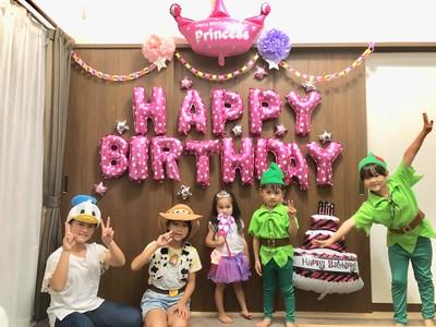 女の子の誕生日のお祝いに!お部屋がパーティーのようなかわいい空間に