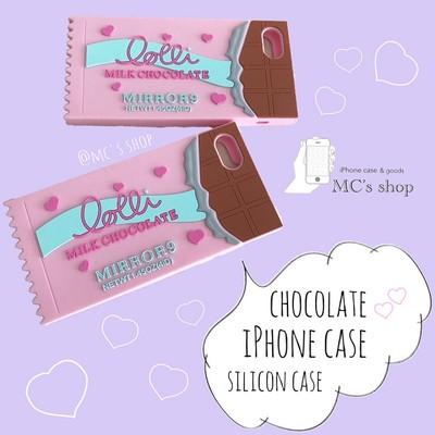 可愛いもの好きには堪らない♡チョコレート iPhoneケース♡