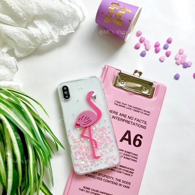 魅惑のフラミンゴ♡夏を感じるクリアなiPhoneケース