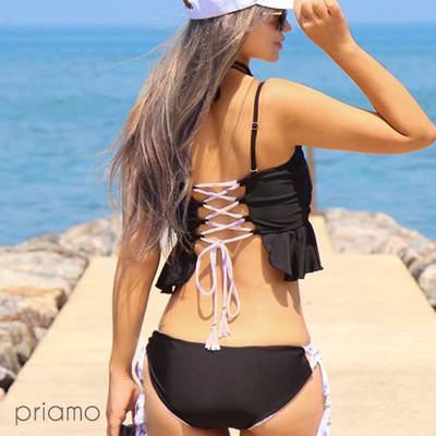 MIRA MARIVの新作ビキニ♥2度楽しいインポート風のリバーシブル水着!