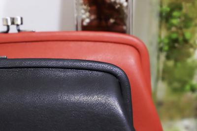 ガマグチ長財布/肌に吸い付く柔らかさが自慢★ MADE IN JAPAN の職人技が光る逸品です。