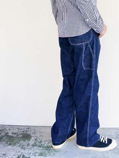 経年変化が楽しめ何年経っても穿き続けたいorSlowの ペインターパンツ