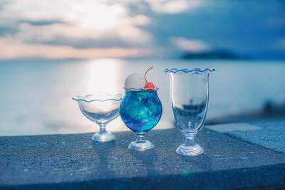 まずはお気に入りのグラスから!おうち時間をもっと素敵にしてくれる、レトロ可愛いクリームソーダグラス
