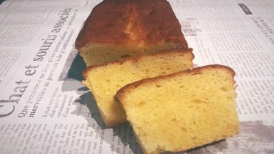 北海道のラベンダーを使用したパウンドケーキfragrance cake!!