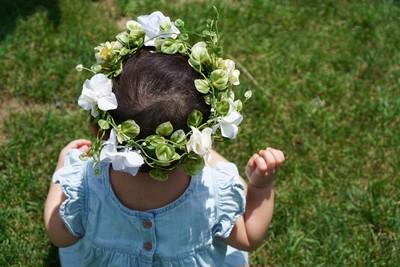 可愛いベビー花冠で特別な日をもっと可愛く♡