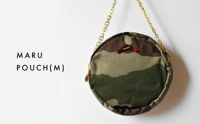 重たいバッグとはさよなら!身軽な荷物で軽やかに。MARU POUCH(M)