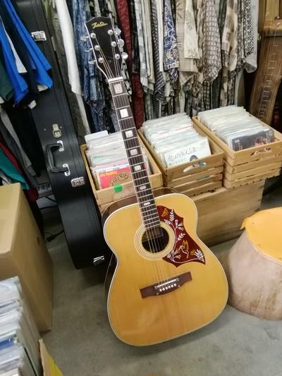 日本のフォークギターの夜明け前のメイドインジャパン
