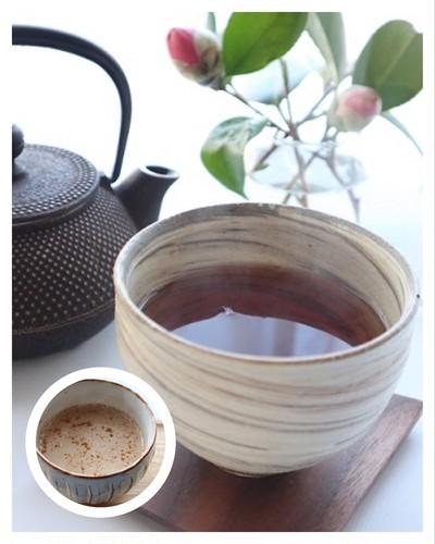 寒~い日は、ほうじ茶であったまる!ほうじ茶でつくるラテは、シナモンをプラス。