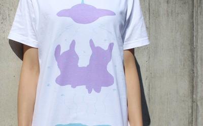 不思議!?な絵柄の、特製Tシャツいろいろ