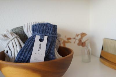 履く度に癒される靴下「mekke」NEWカラー入荷しました!