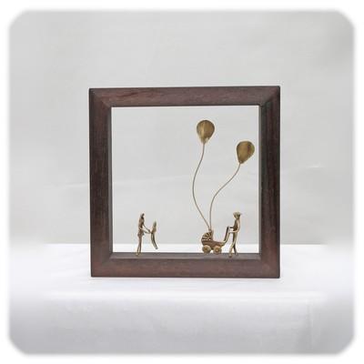 アテネの小さな工房からの贈り物!「青空と風船と家族...」