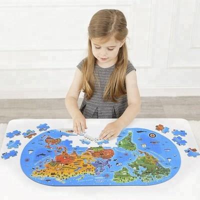 世界地図のパズル。。。