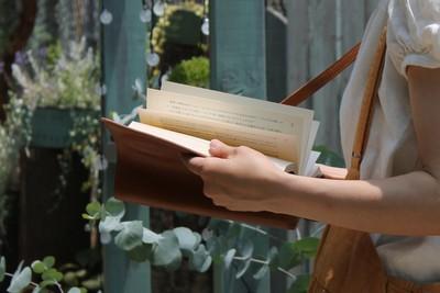 読書の秋!本を持って出掛けよう♪