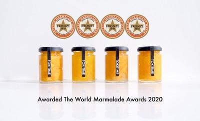 世界マーマレードアワード を受賞したマーマレードセットで「少し贅沢なTOKIを」お楽しみ下さい