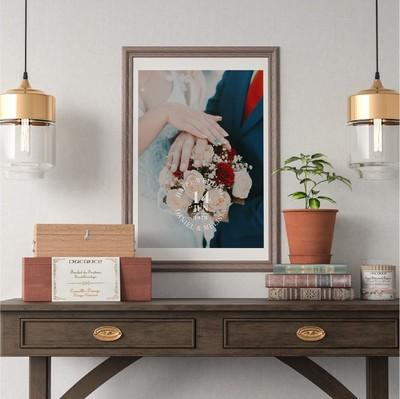 【アニバーサリーポスター】思い出の写真と日付を重ねてあなたの記念日がポスターに。