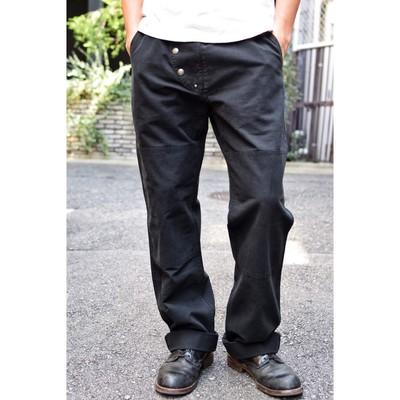 AT-DIRTY(アットダーティー)/FIREMAN PANTS (BLACK / SAND)