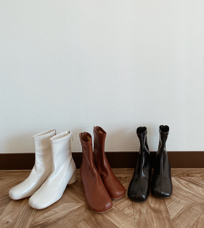 【11/22 release】Square Angle Boots