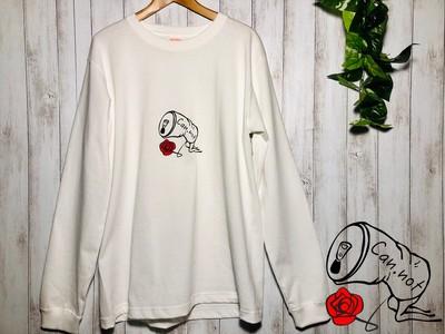【Can.not🌹 シンプルでかわいいロングTシャツ スケーター・ストリート系ファッションブランド