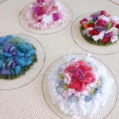毛糸は好きなんだけれど、編み物は苦手…でもこれなら楽しい!ってきっと思えます♡