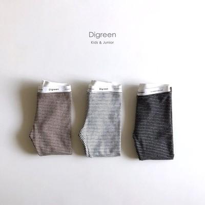 【人気の韓国輸入服】柔らかい生地感が気持ちいいボーダーレギンスパンツのご紹介です