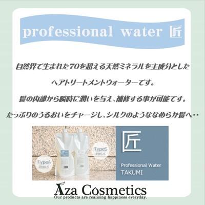 髪の内部から瞬時に潤 いと補修をもたらす『 Professional Water 匠 』のご紹介♡