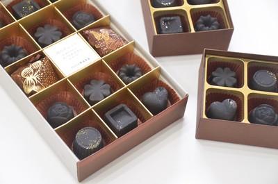 バレンタインデーやホワイトデーに!チョコレートのような「炭のチョコラ」