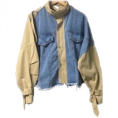 大人気完売したトレンチxデニムの異素材MIXジャケット少量再入荷!!!