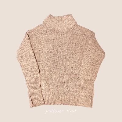 くすみ色の世界⑱ 【pullover knit】