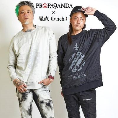 『PROPA9ANDA × 晁直 (lynch. / ANOVERLAY)』新作スウェット入荷!!