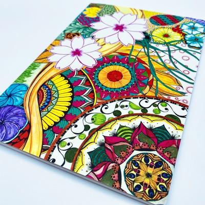 『アート』がノートになりました!!富・繁栄をもたらすヤントラと曼荼羅アートの融合~枠をこわす~