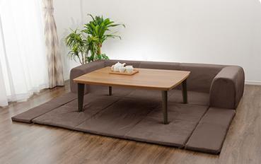 こんなソファ待ってました!夢のようなリラックス空間と様々な場面に対応できる優れもの