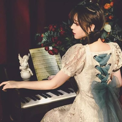 お洒落して出かけたい ♡Mon petite ribbon dress
